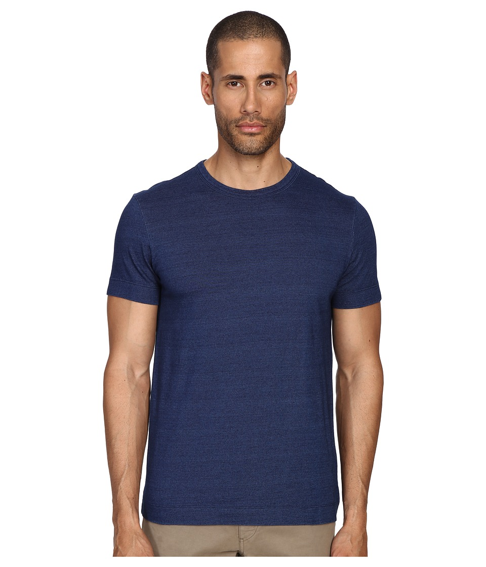 Theory - Gaskell N Denim Jersey (Indigo) Men's T Shirt