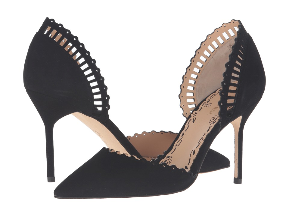 Marchesa Charlotte (Black Suede) Women