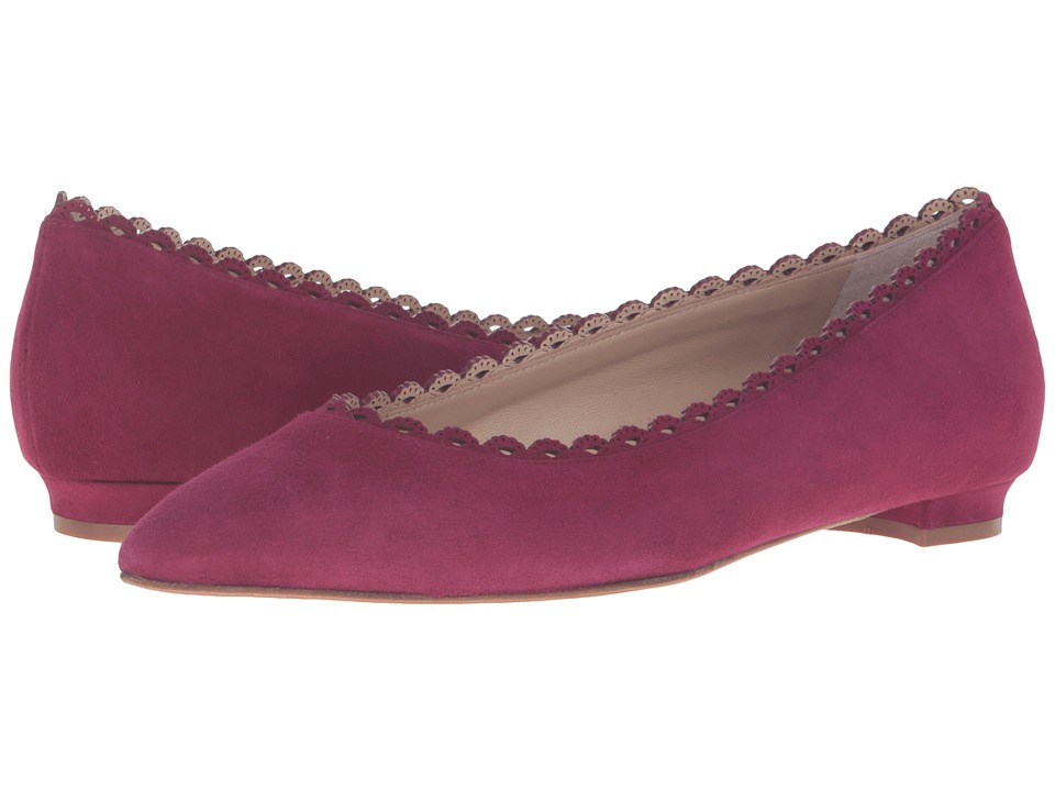 Marchesa - Natalie (Orchid Suede) Women's Flat Shoes