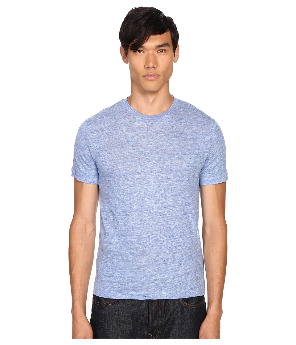 Theory - Koree S Zephyr Melange (Electric) Men's T Shirt