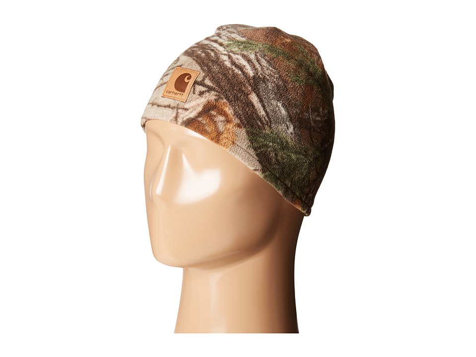 Carhartt Kids - Force Swifton Camo Hat (Youth) (Camo/Rose) Caps