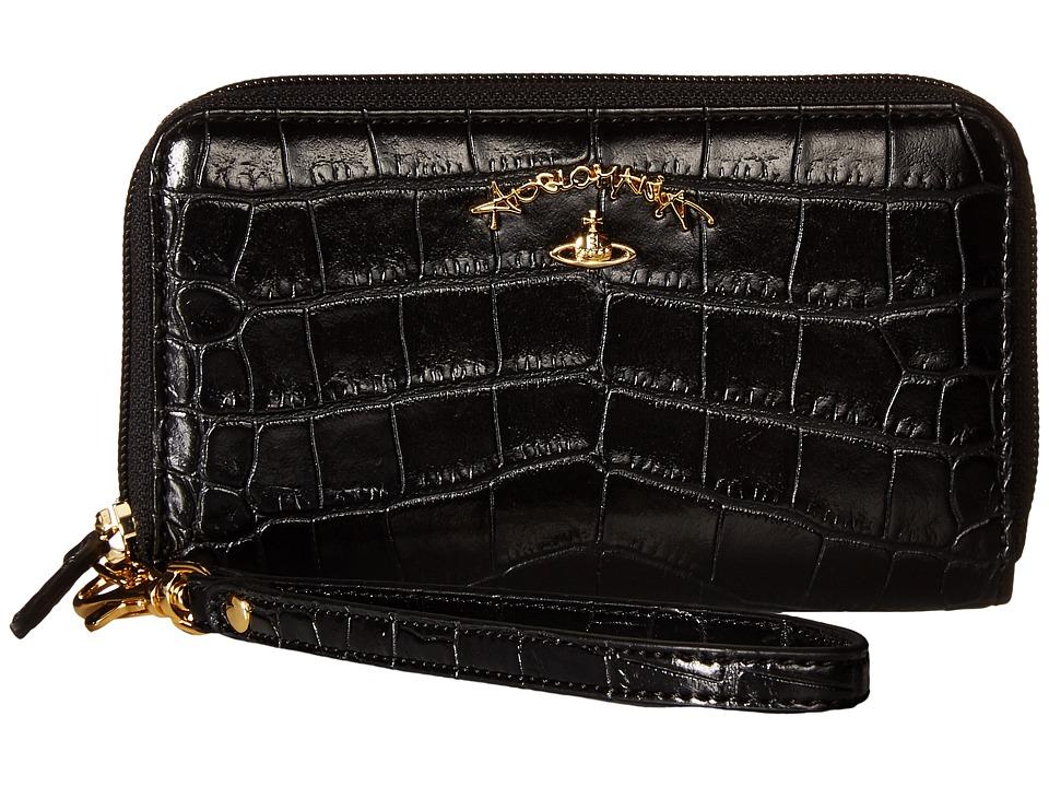 Vivienne Westwood - Dorset Wallet (Black) Handbags