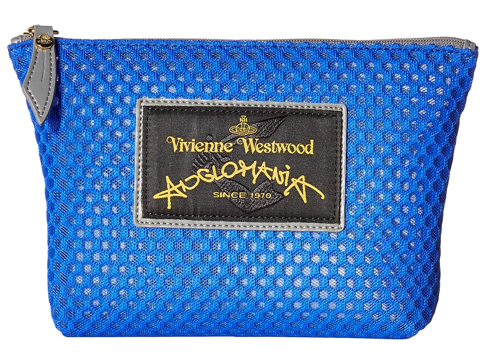 Vivienne Westwood - Charms Make Up Bag (Bluette) Handbags