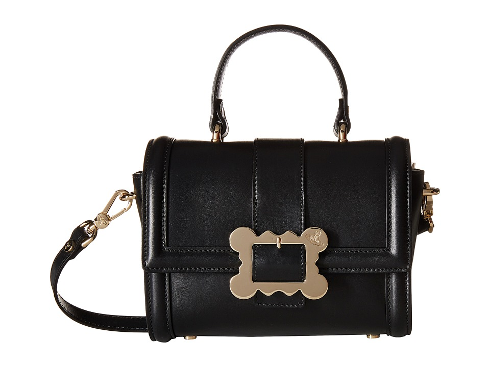 Vivienne Westwood - Glasgow Bag (Black) Satchel Handbags