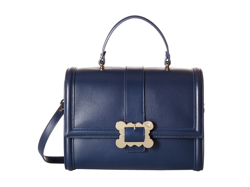 Vivienne Westwood - Glasgow Bag (Blue) Satchel Handbags
