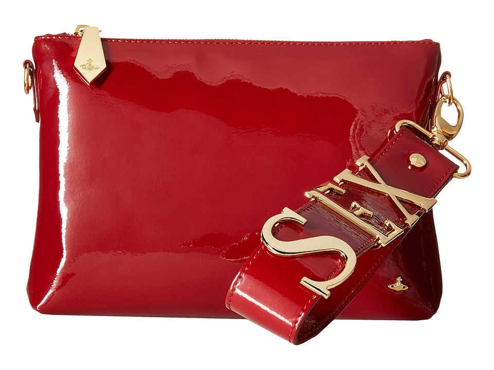 Vivienne Westwood - Sex Bag (Bordeaux) Clutch Handbags