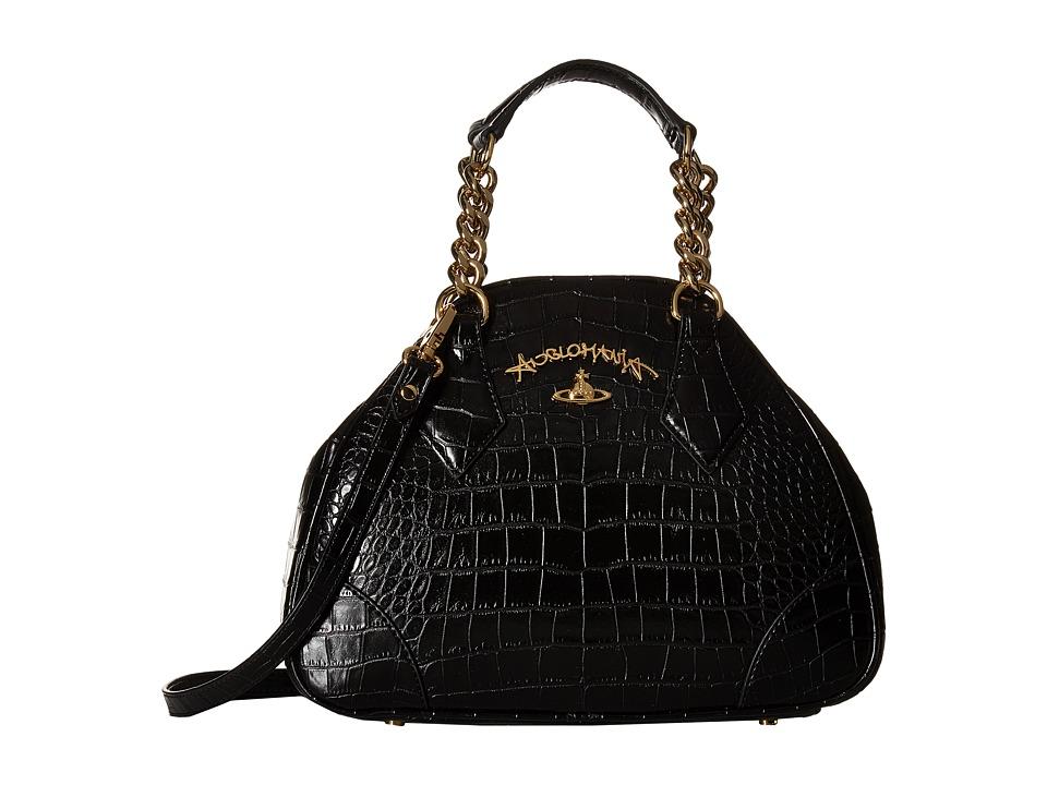 Vivienne Westwood - Dorset Bag (Black) Satchel Handbags