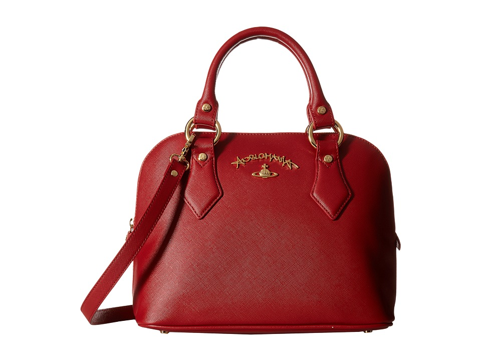 Vivienne Westwood - Divina Bag (Bordeaux) Satchel Handbags