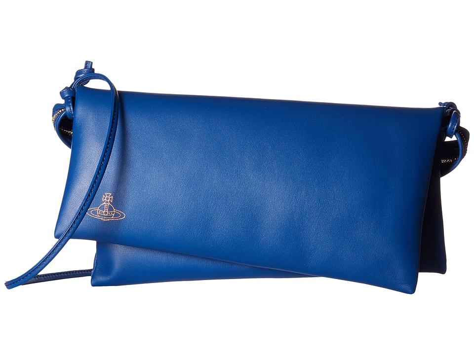 Vivienne Westwood - Braccialini Vivienne's Evening Bag (Cobalt) Bags