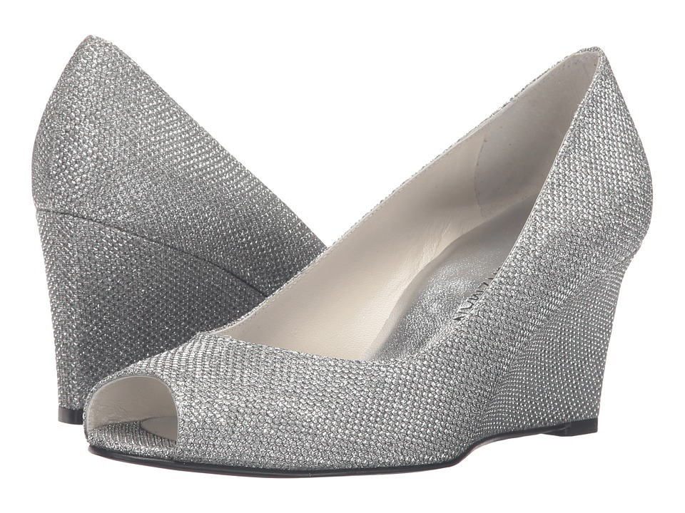 Stuart Weitzman - Annaform (Silver Noir) Women's Shoes