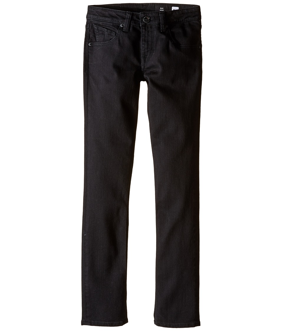 Volcom Kids - 2X4 By Denim (Big Kids) (New Black) Boy's Jeans