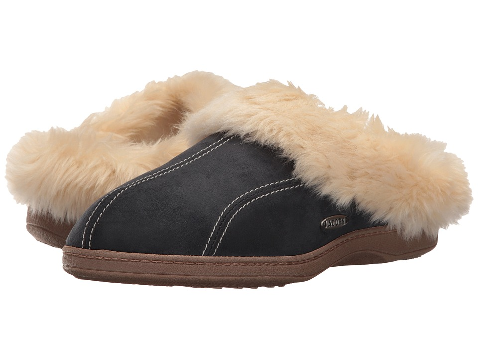 Acorn - Cozy Ewe (Black) Women's Slippers