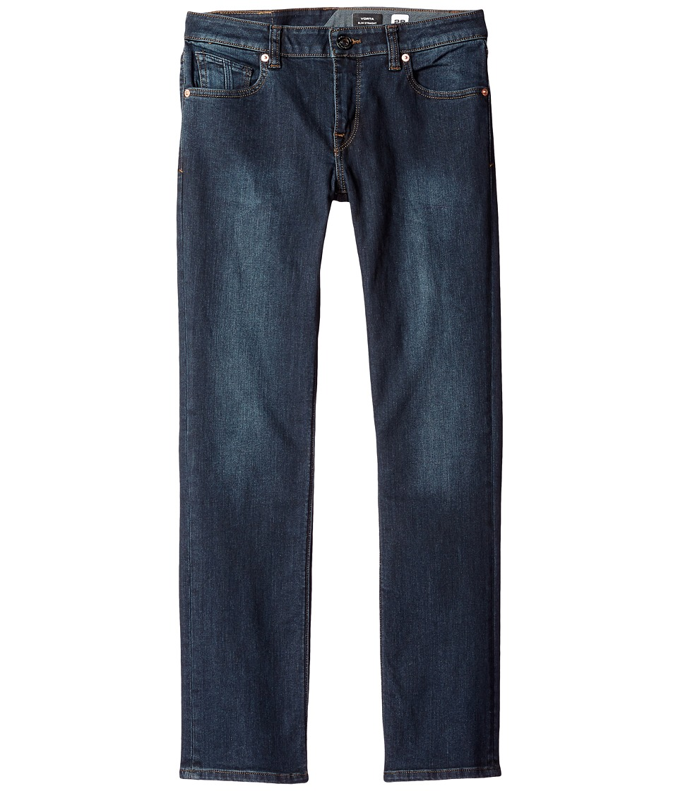 Volcom Kids - Vorta (Big Kids) (Vintage Navy) Boy's Jeans