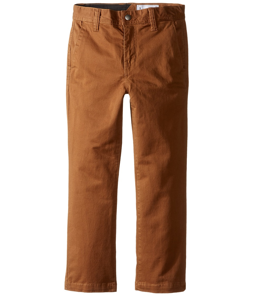 Volcom Kids - Frickin Slim Chino Pants (Toddler/Little Kids) (Mud) Boy's Casual Pants