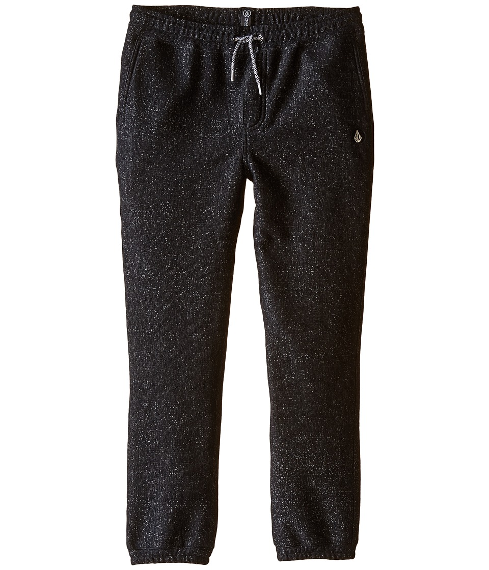 Volcom Kids - Static Fleece Pants (Big Kids) (Black) Boy's Fleece