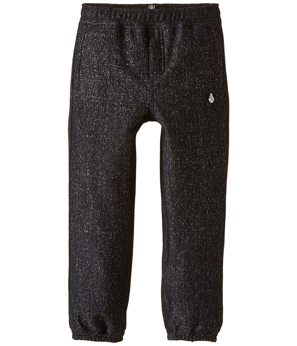 Volcom Kids - Static Fleece Pants (Toddler/Little Kids) (Black) Boy's Fleece