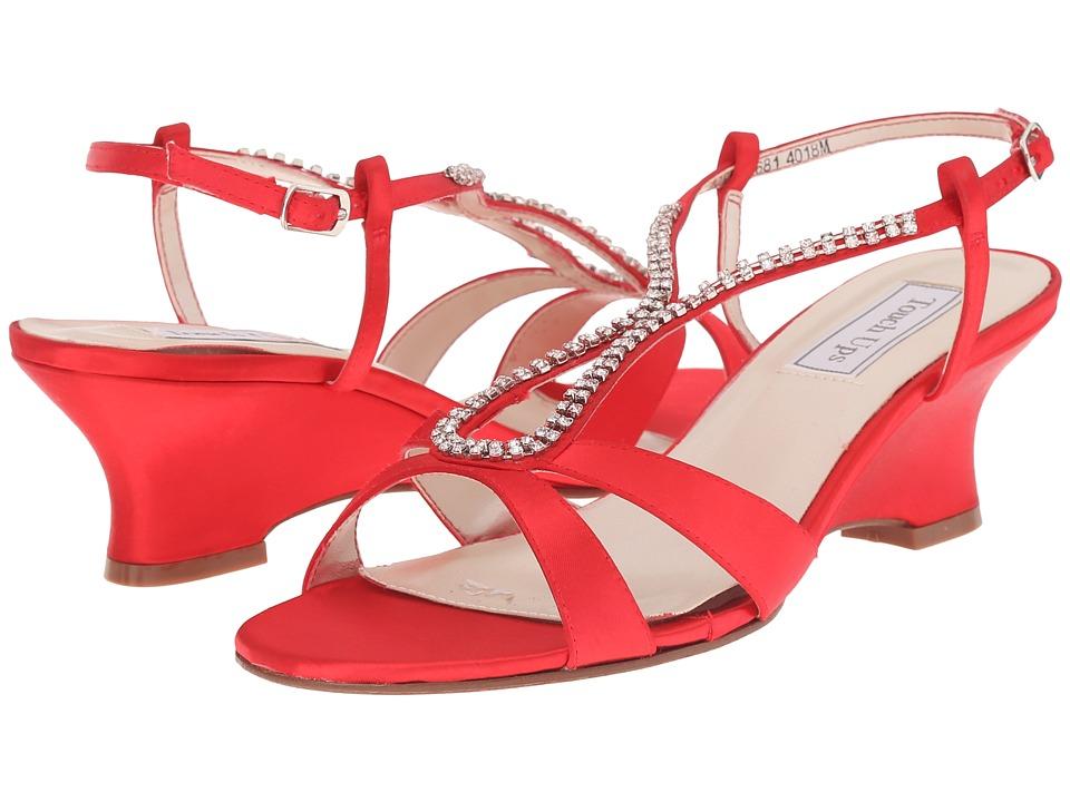 Touch Ups - Bernie (Valentine Red) Women's Dress Sandals