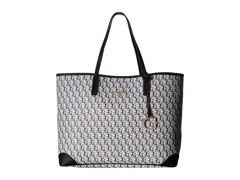 GUESS - G Cube G-Tote (Black 1) Tote Handbags