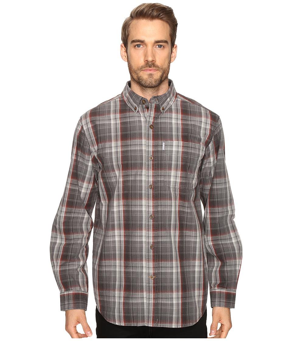 Carhartt - Bellevue Long Sleeve Shirt (Shadow) Men's Long Sleeve Button Up