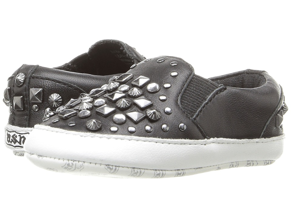 Image of ASH Kids - Baby Jay Roxy (Infant) (Black) Girl's Shoes