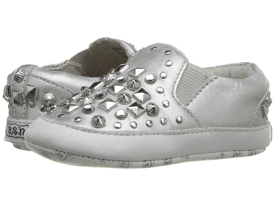 ASH Kids - Baby Jay Roxy (Infant) (Silver) Girl's Shoes