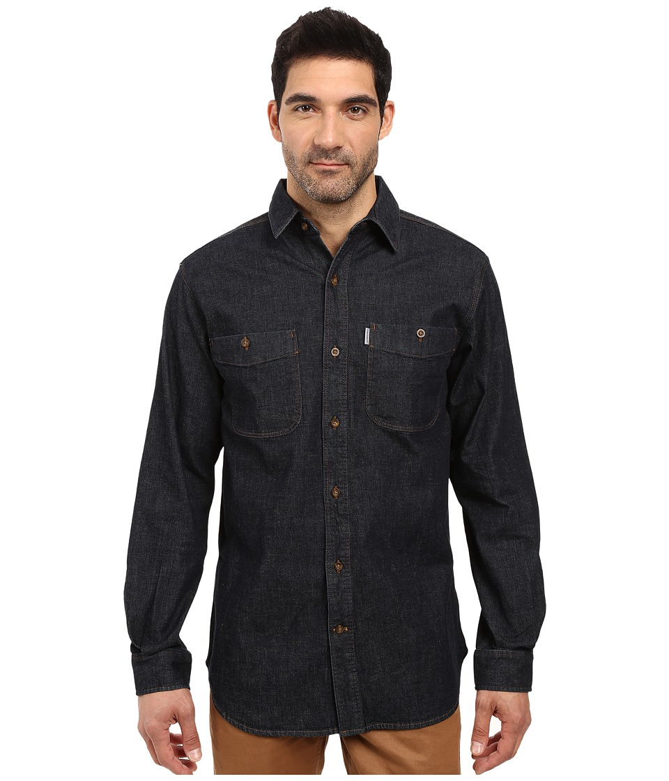 Carhartt - Rugged Flex Patten Denim Shirt (Rotary Rinse) Men's Clothing