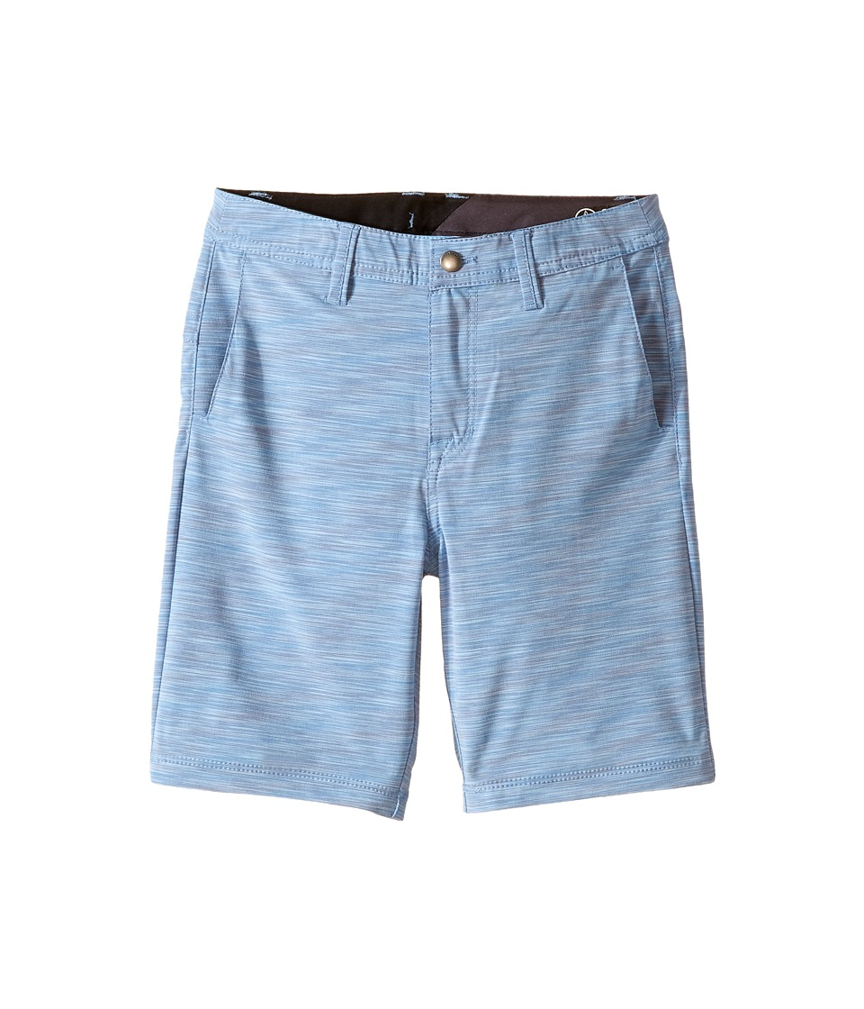 Volcom Kids - SNT Mix Hybrid Shorts (Toddler/Little Kids) (Airforce Blue) Boy's Shorts
