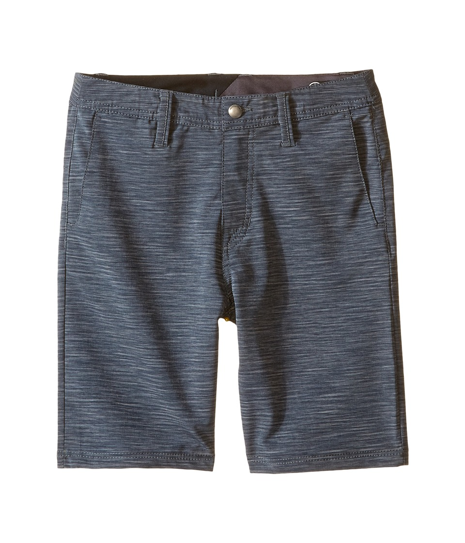 Volcom Kids - SNT Mix Hybrid Shorts (Toddler/Little Kids) (Stealth) Boy's Shorts