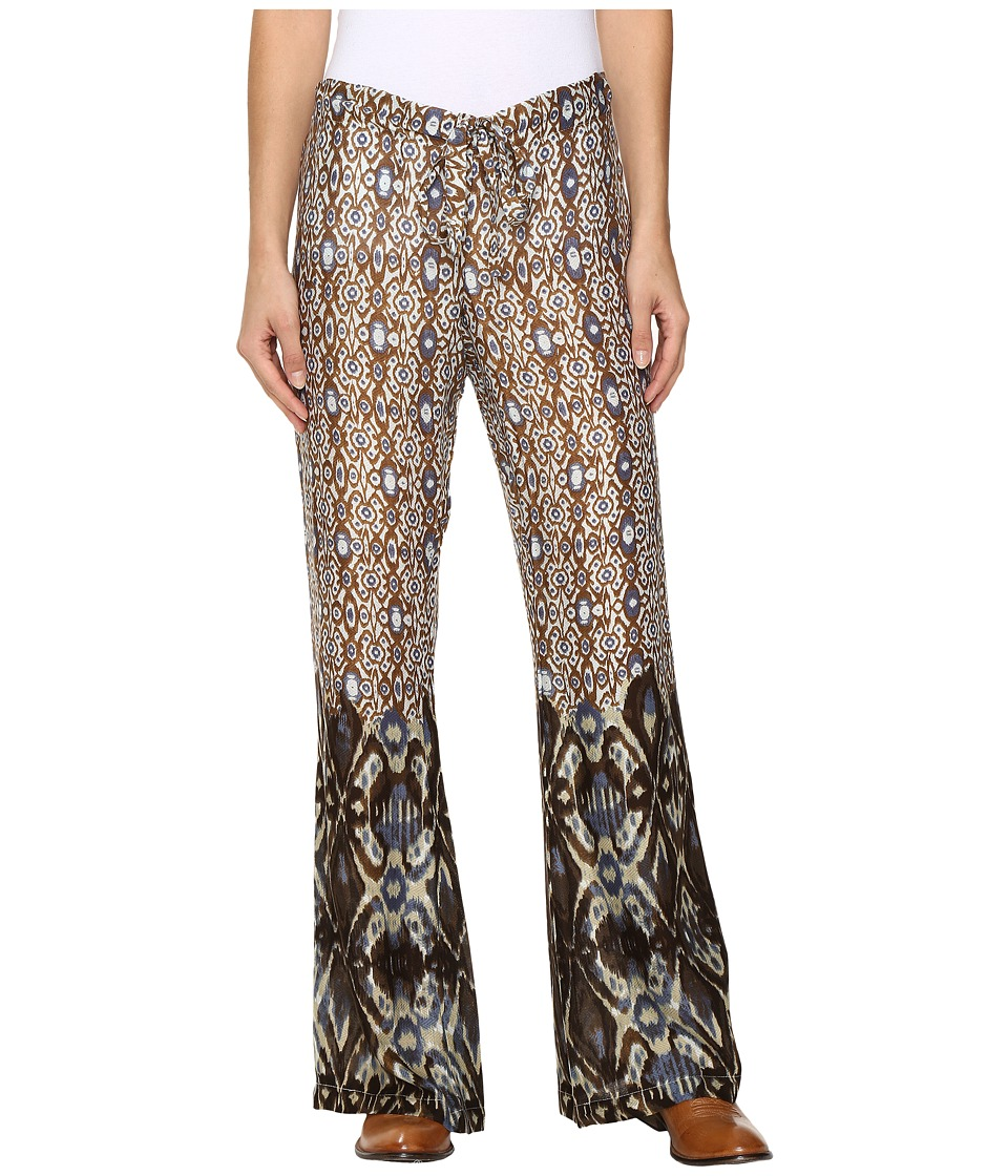 Stetson - Aztec Border Print Leisure Pants (Brown) Women's Casual Pants