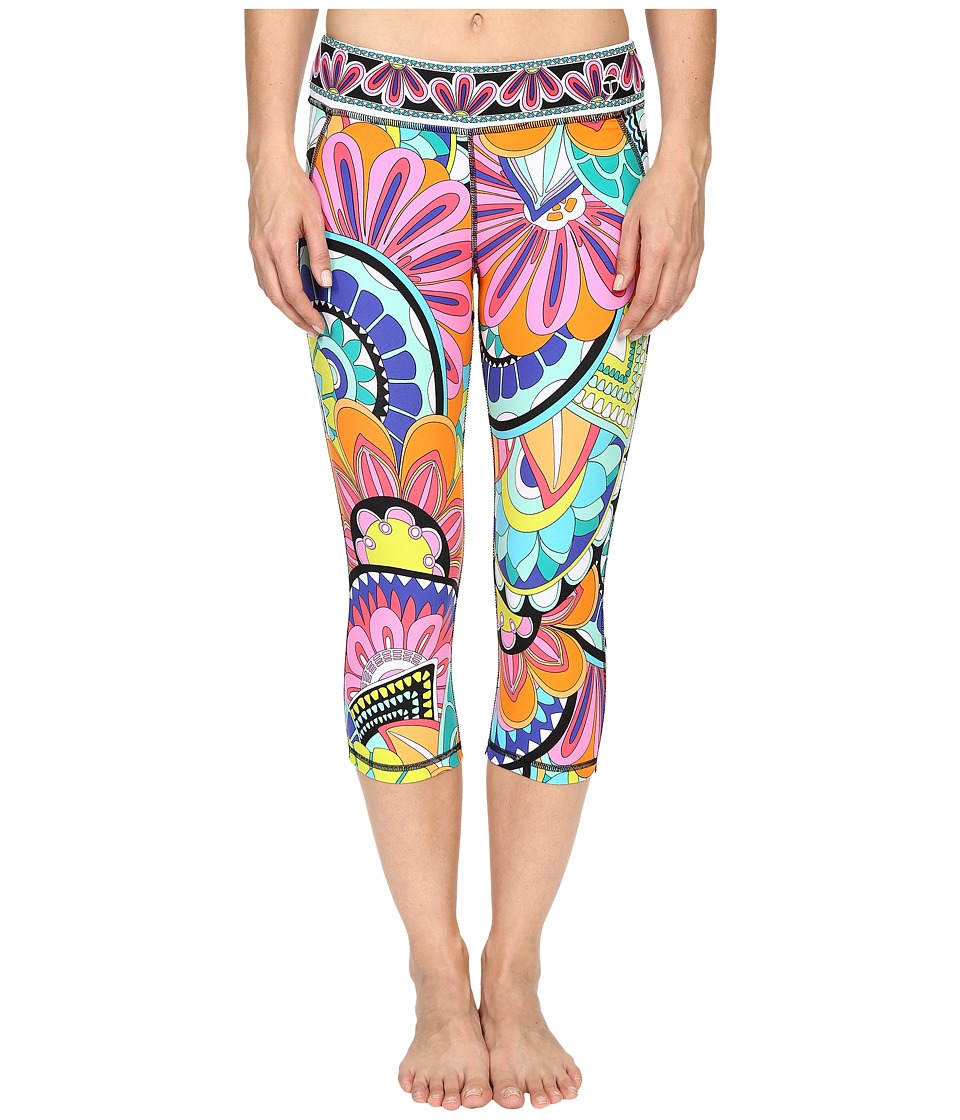 Trina Turk - Portofino Mid Length Leggings (Multi) Women's Casual Pants