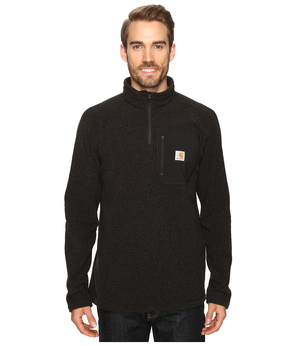 Carhartt - Walden 1/4 Zip Sweater Fleece (Carbon Heather) Men's Fleece
