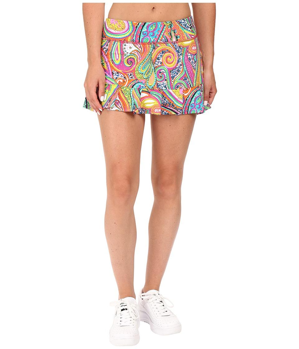 Trina Turk - Mediterranean Paisley Tennis/Running Skirt (Multi) Women's Skirt