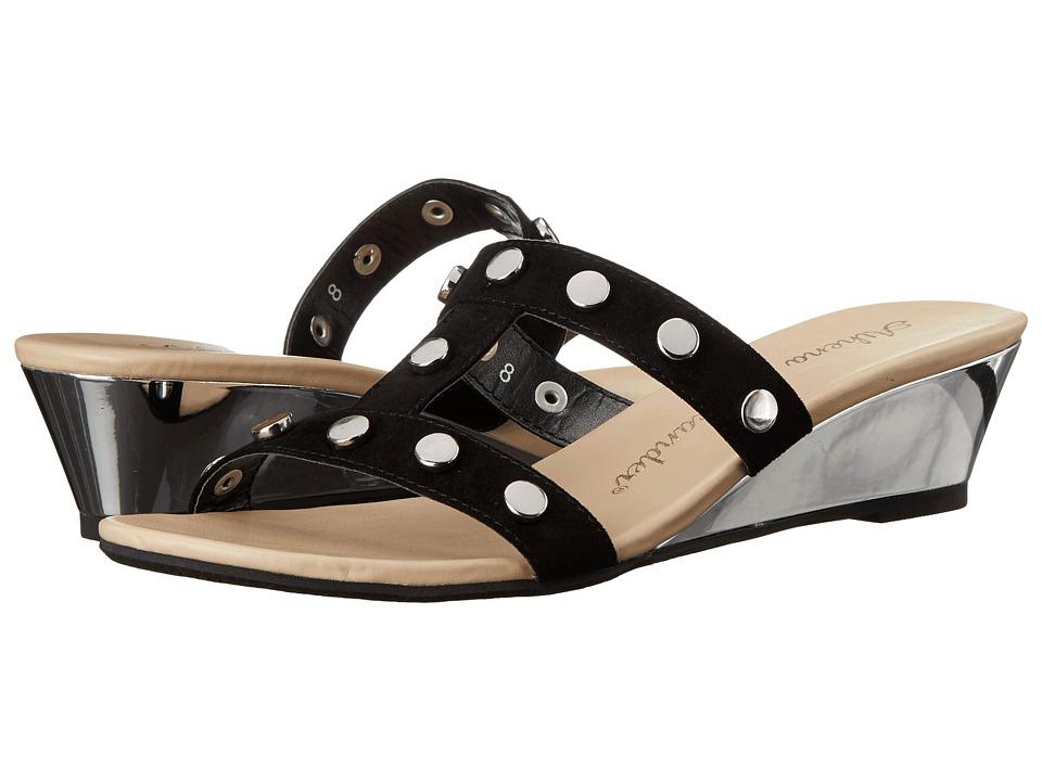 Athena Alexander - Tandy (Black Suede) Women's Shoes