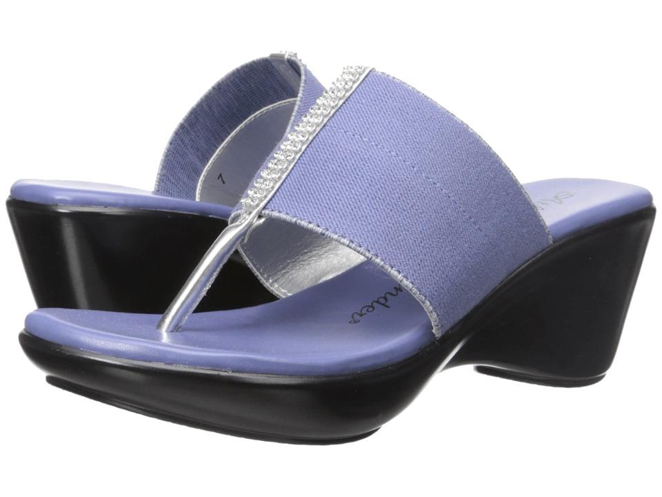 Athena Alexander - Rosalie (Denim) Women's Wedge Shoes
