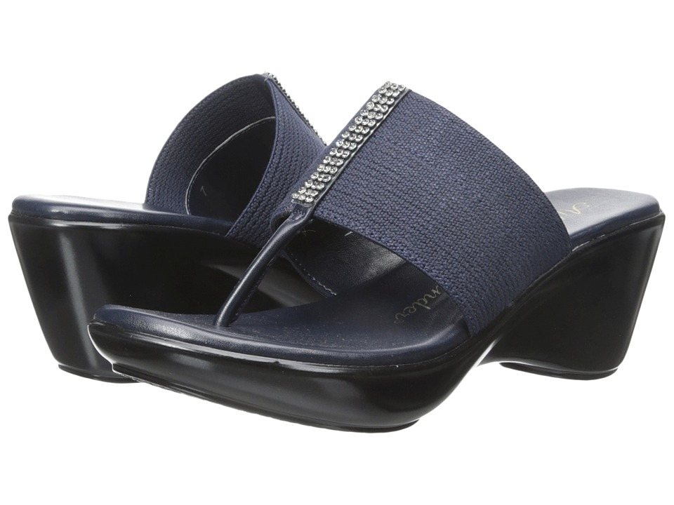 Athena Alexander - Rosalie (Navy) Women's Wedge Shoes