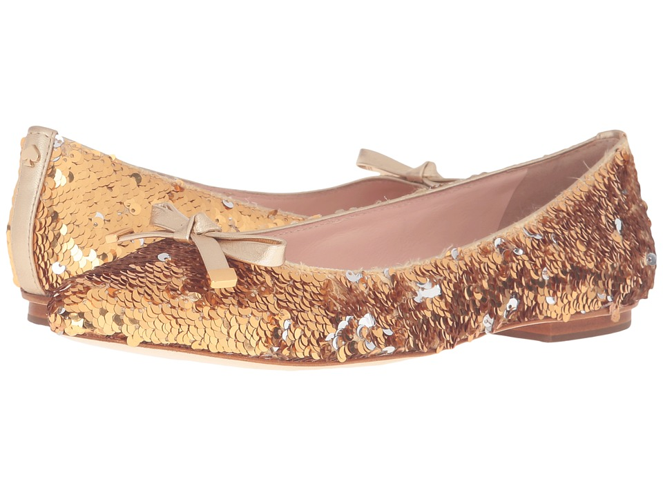 Kate Spade New York - Emma Too (Gold/Silver Messy Sequins) Women's Shoes