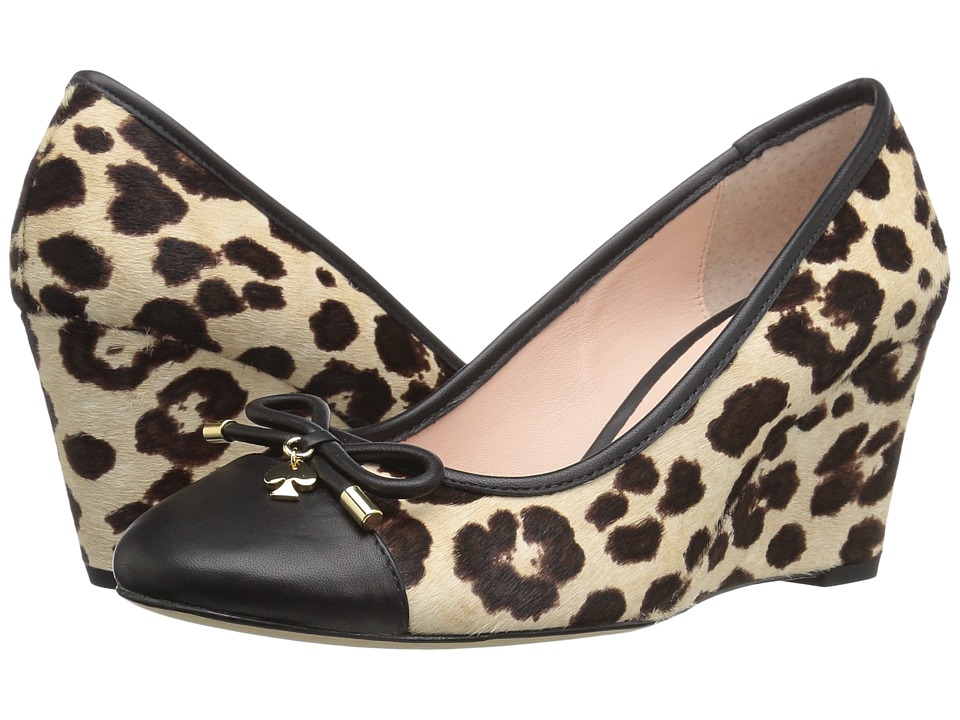 Kate Spade New York - Kacey (Blush/Brown Leopard Haircalf Print) Women's Shoes