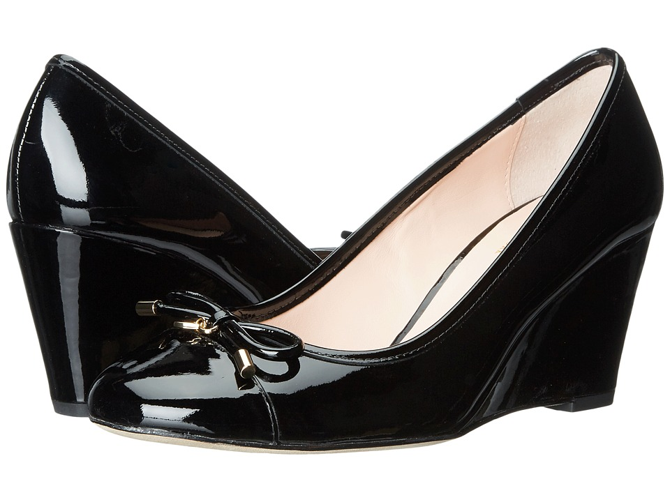 Kate Spade New York - Kacey (Black Patent) Women's Shoes