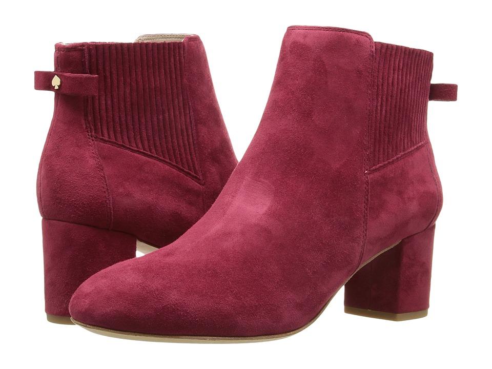 Kate Spade New York - Lorene (Black Tumbled Leather) Women's Shoes