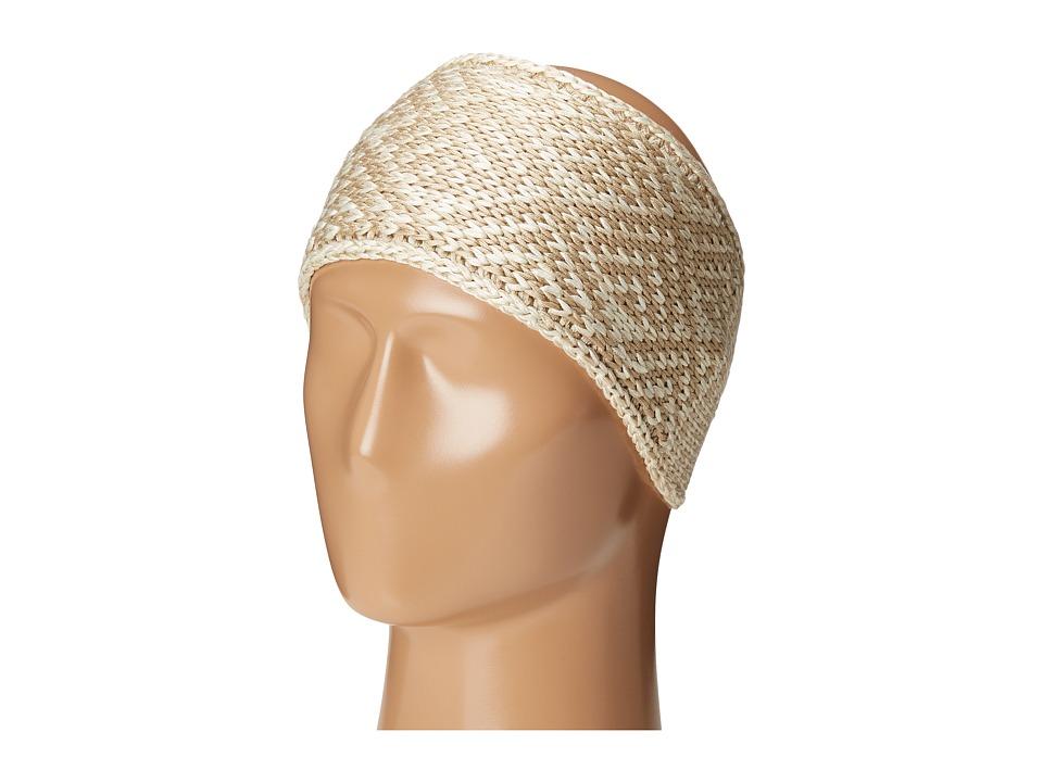 adidas - Holiday II Headband (Winter White/Camel) Knit Hats
