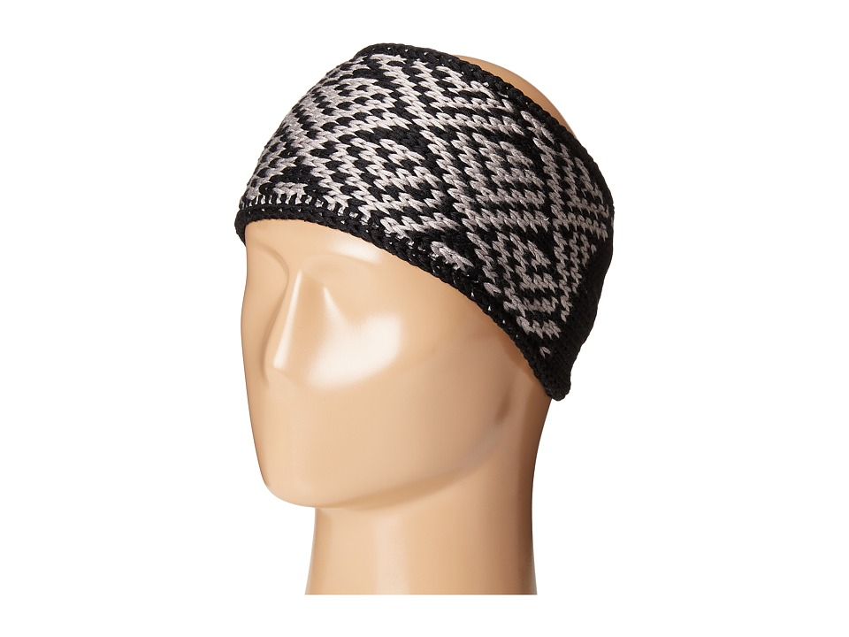adidas - Holiday II Headband (Black/Grey) Knit Hats