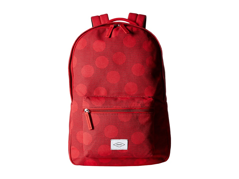 Fossil - Ella Backpack (Red) Backpack Bags