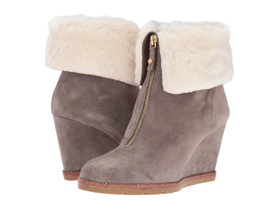 Kate Spade New York - Stasia (Portabella Sport Suede/Cream Faux Fur) Women's Shoes