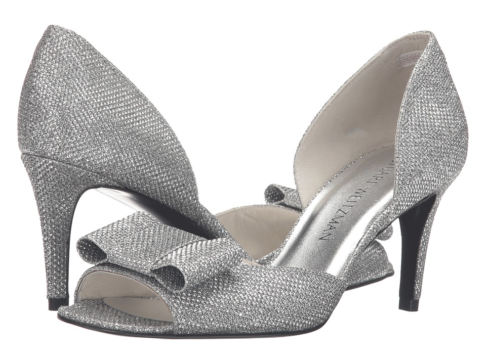 Stuart Weitzman - Noshowboat (Silver Noir) Women's Shoes