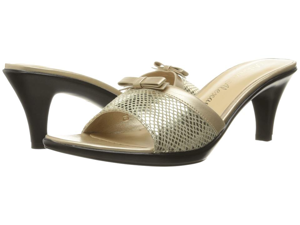 Athena Alexander - Elated (Gold Snake) Women's Shoes
