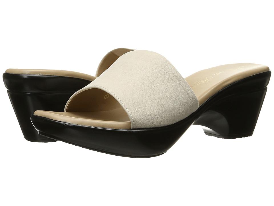 Athena Alexander - Lorie (Beige Suede) Women's Slide Shoes