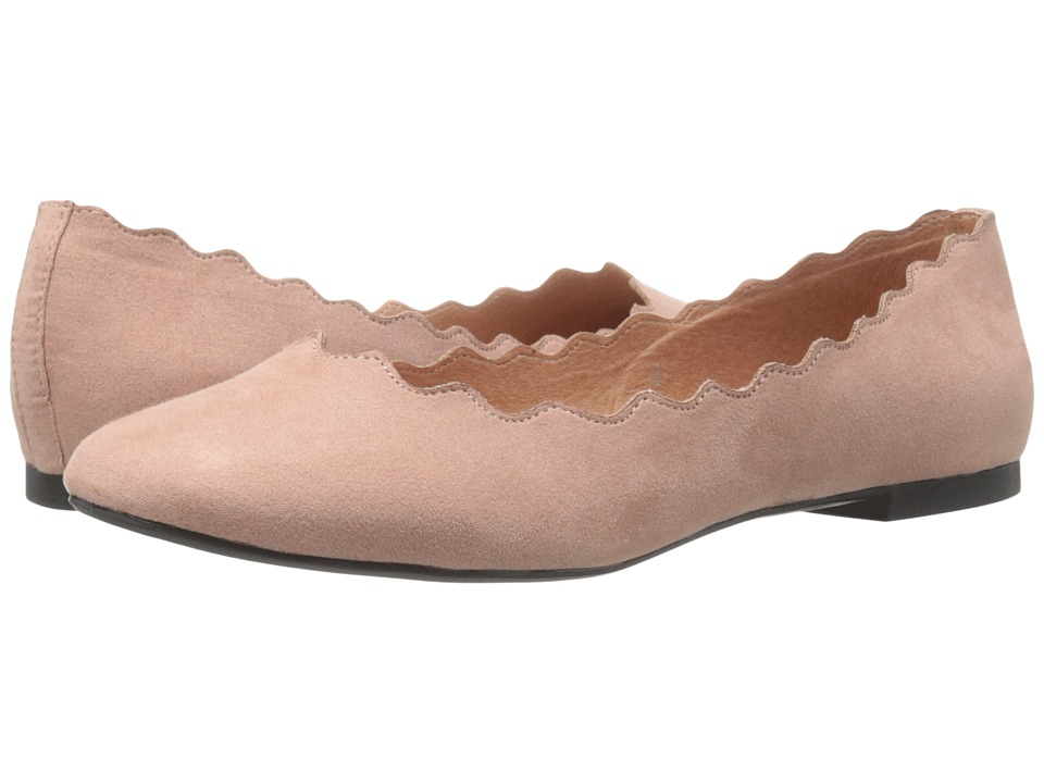 Athena Alexander - Toffy (Blush Suede) Women's Flat Shoes