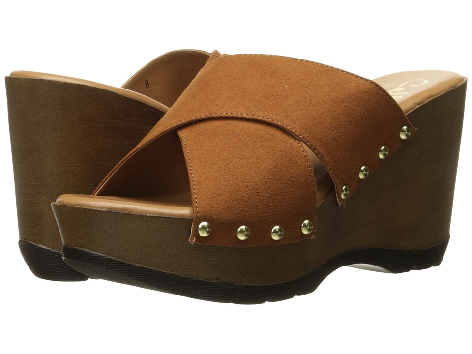 Callisto of California Cinamon (Tan Suede) Women