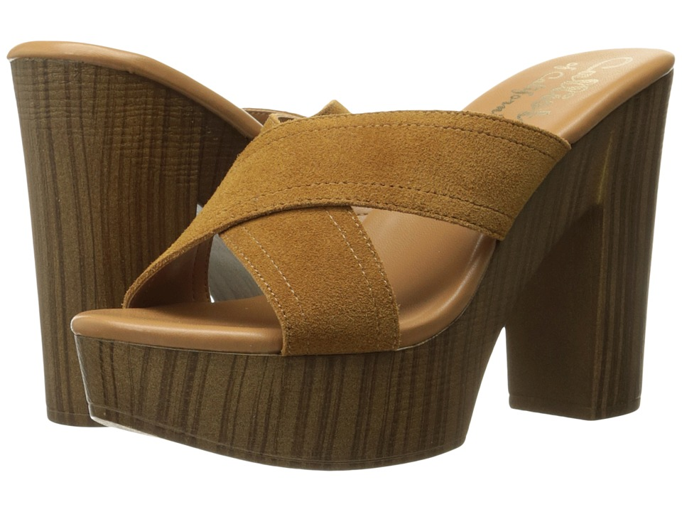 Callisto of California Delsee (Tan Suede) Women