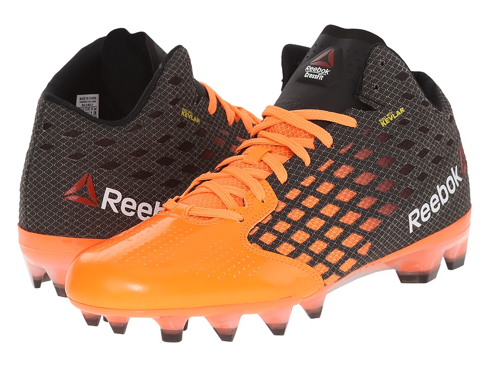 Reebok - Crossfit Stadium Cleat (Black/Electric Peach/White) Men's Shoes